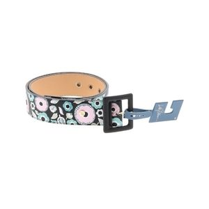 NEW! Libby Edelman Embroidered Floral Belt